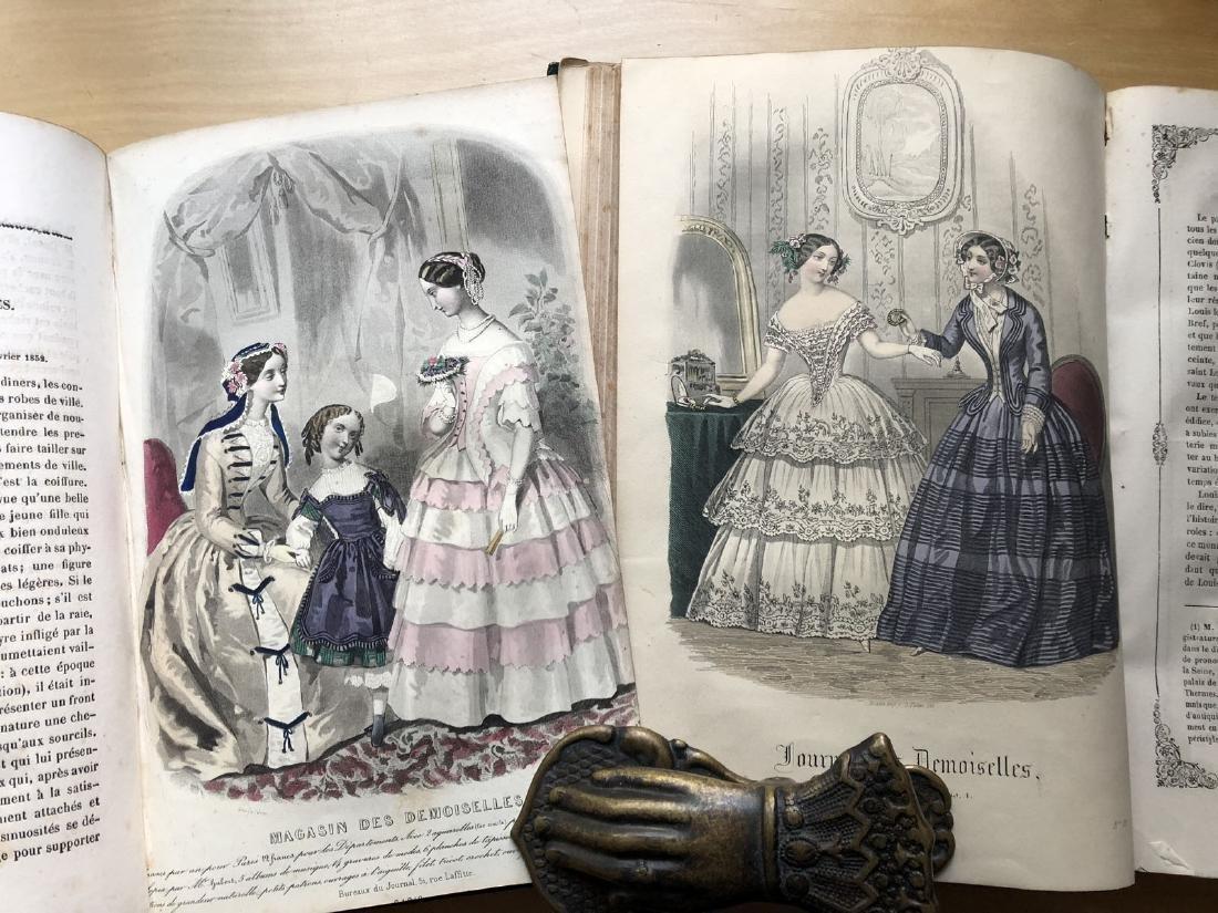 Magasin des demoiselles. 8ème année 1851-1852 plus 1852