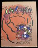 The Lithographs of Chagall with 12 color Lithographs by