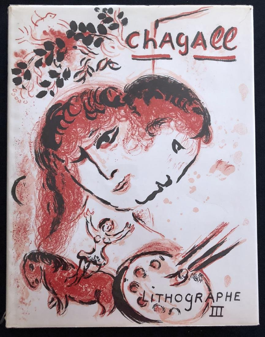 The Lithographs of Chagall Vol 3, with two original