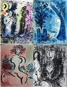 Chagall Lithographe, Vol. 1&2 DELUXE EDITION, with four