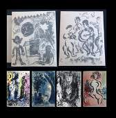 SIGNED CHAGALL LITHOGRAPHS