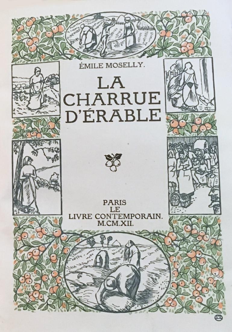 La Charrue d'Erable1912, one of 116 copies, with 12