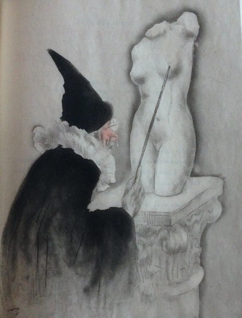 Icart. La vie des seins, 1945. Artistic binding with 30