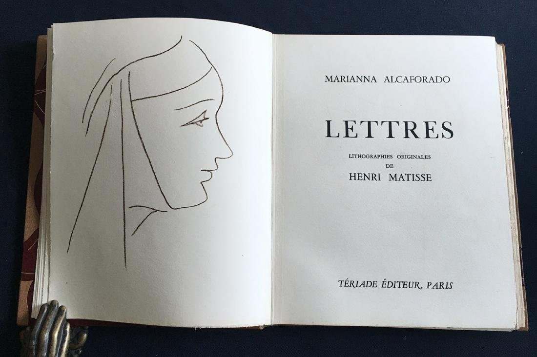 Les Lettres Portugaises. DeLuxe copy with 15 original