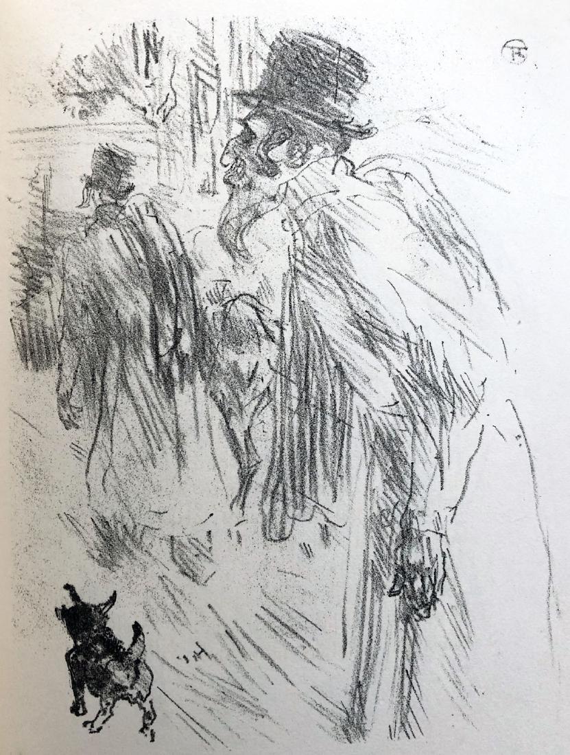 Au Pied Du Sinai.  With 20 lithographs by Henri de