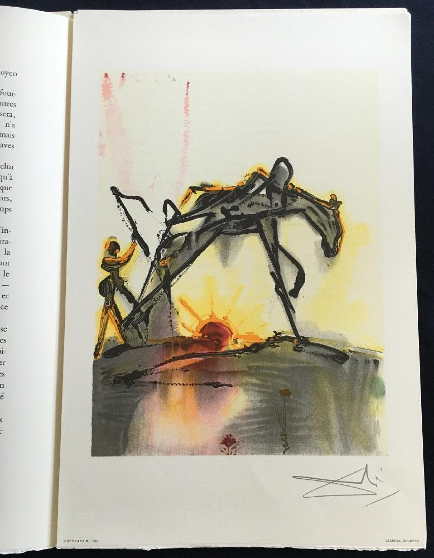 Les Chevaux de Dali, with 2 signed and 18 unsigned