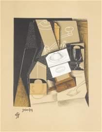 Au soleil du plafond, 1955. 22 lithographs by Gris.