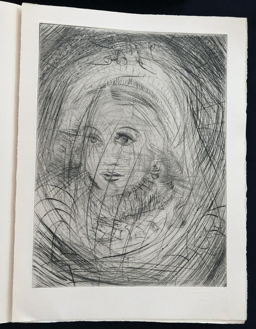 Dali, Faust. Portfolio with 21 etchings.