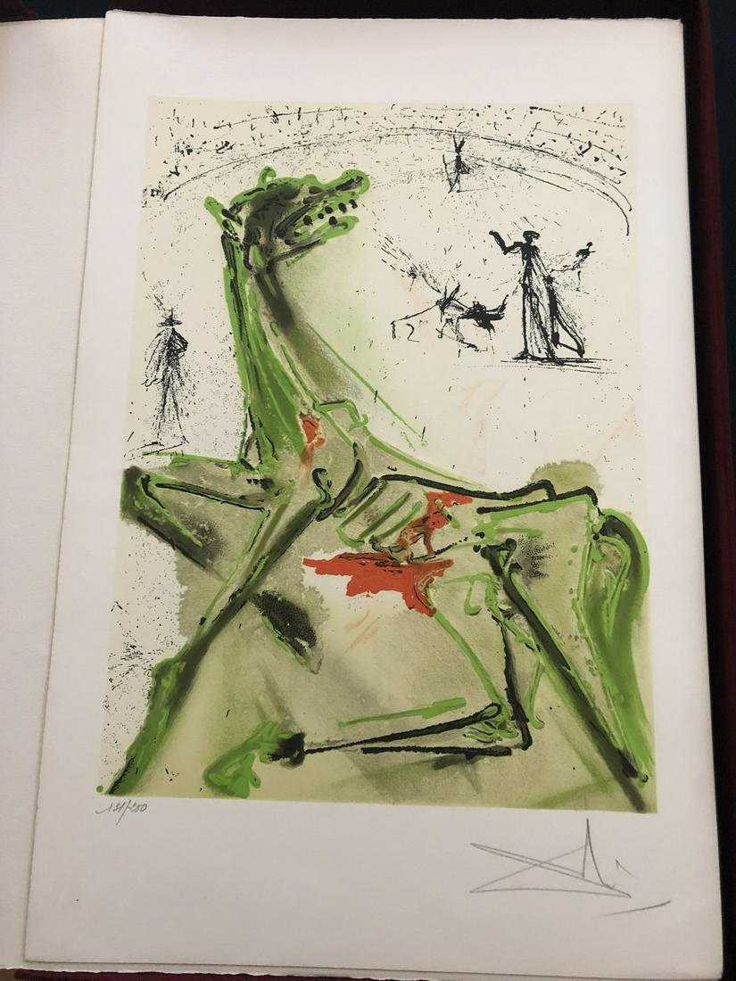 Les Chevaux de Dali, Deluxe edition with 2 signed and