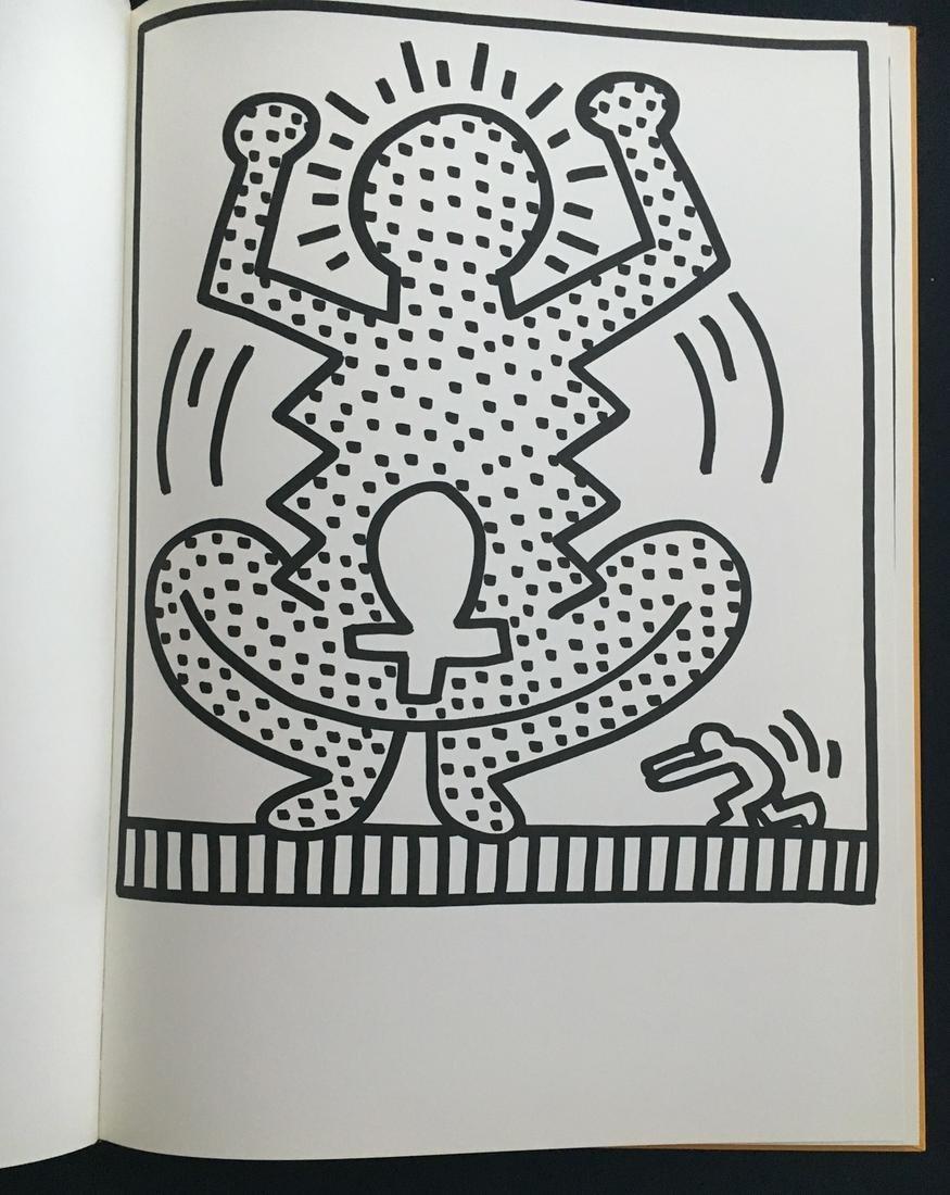 Keith Haring 1983, Amelio. Portfolio with 29