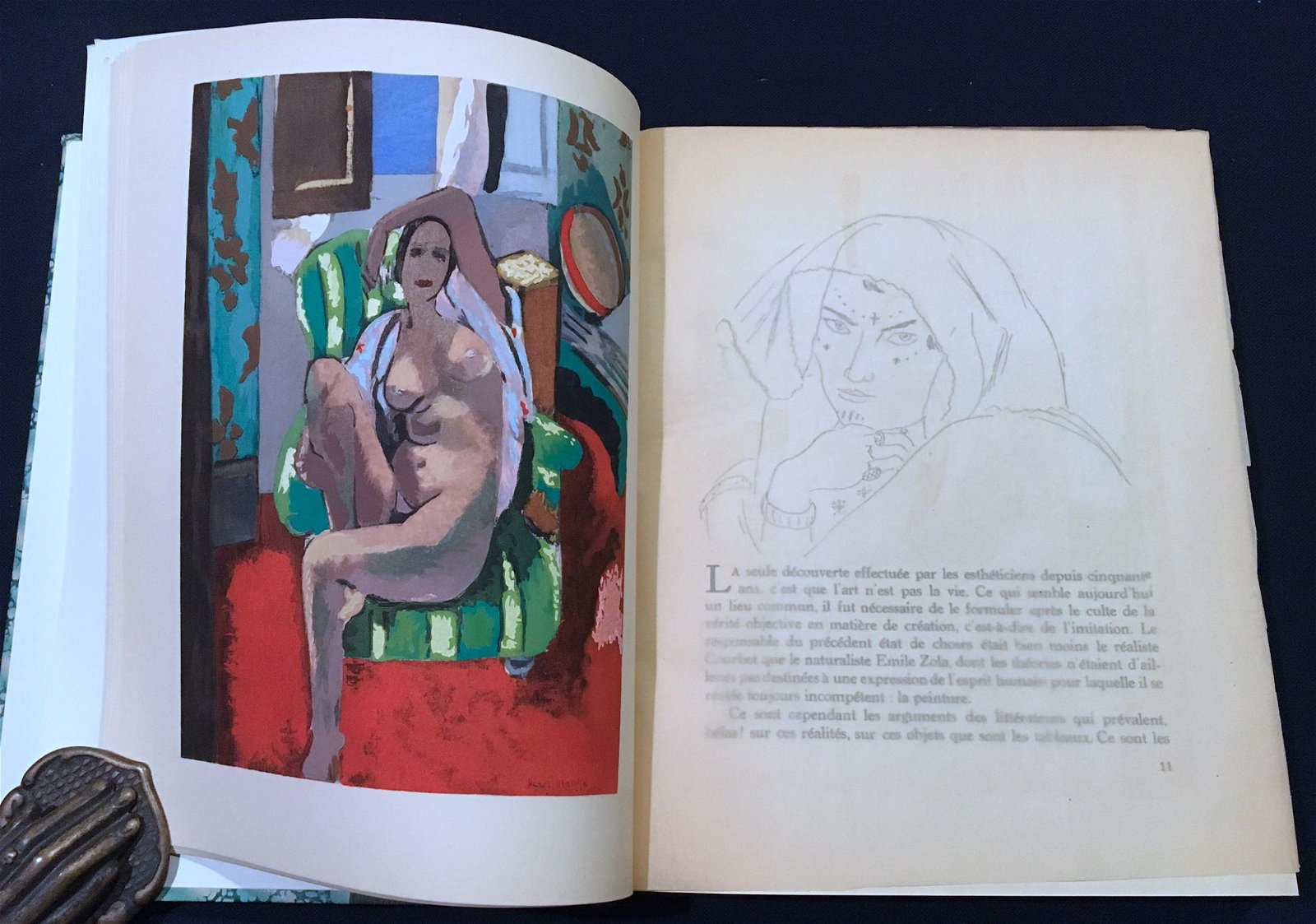 Matisse by Fels. 1929, with 4 color pochoirs.