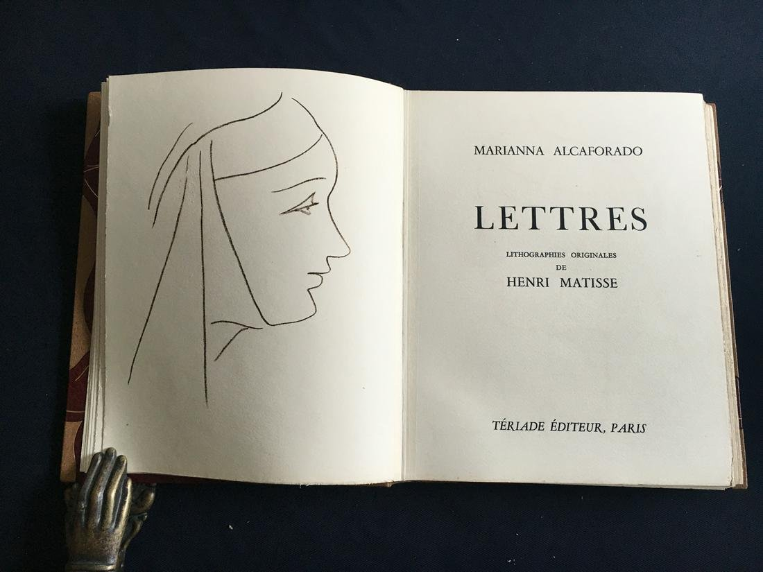 Les Lettres Portugaises. DeLuxe copy with 15