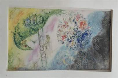 Chagall. Phoebus Collotypes. Gouaches