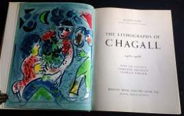 Chagall lithographe Vol 3 two lithographs by Chagall