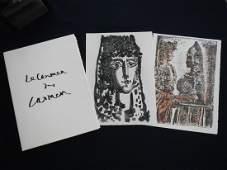 Le Carmen des Carmen, 5 original prints by Picasso