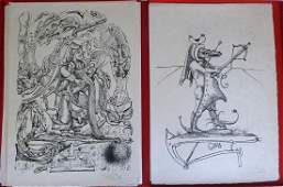 DALI: Pantagruel. with 25 lithographs signed/numbered
