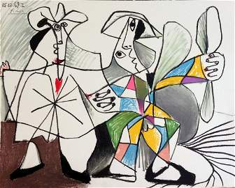 Au Baiser d'Avignon. With 12 lithographs by Picasso