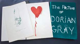 Jim Dine. The Picture of Dorian Gray. 4 signed prints