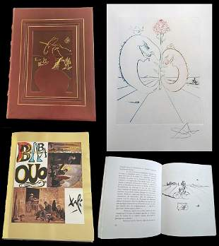 Dali Babaouo. With a signed Etching