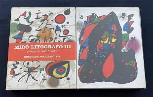 Miro Litographo Vols: 3 & 4