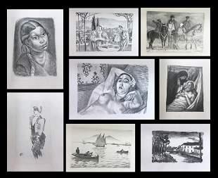 Album de Lithographies Originales.1925 Matisse,