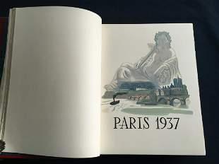 Paris 1937, 31 etchings by Matisse, Vlaminck, Derain,