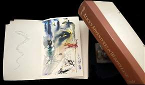 Dali Alice's Adventures in Wonderland. With one color