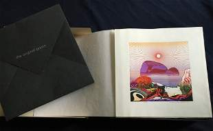MODERN JAPANESE PRINT ARTISTS, with signed prints by F.