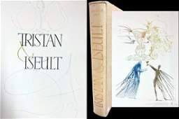 DALI. Tristan et Iseult. 21 drypoints and a signed