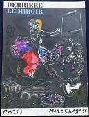 CHAGALL. Derriere le miroir 66/67/68. 1954. 11 lithos