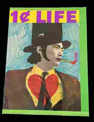 1¢ Life (ONE CENT LIFE), 1964. with 62 lithographs