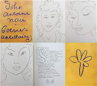Matisse Poesie Antillaises Poesies Antillaises. 1972-