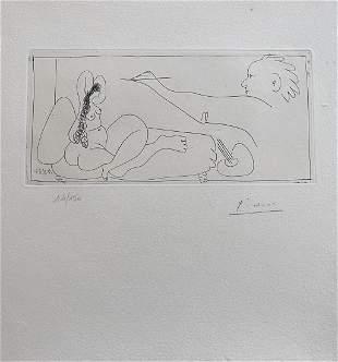 Picasso. Les Dames de Mougins. DELUXE Edition. With a