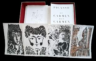 PICASSO. Le Carmen des Carmen. With 3 aquatints, 1