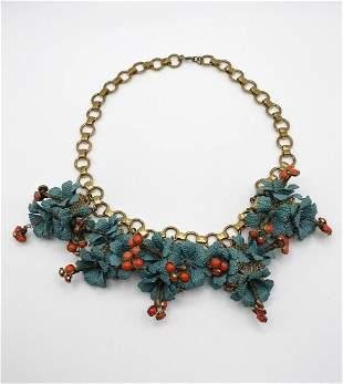 Vintage Collar Necklace.