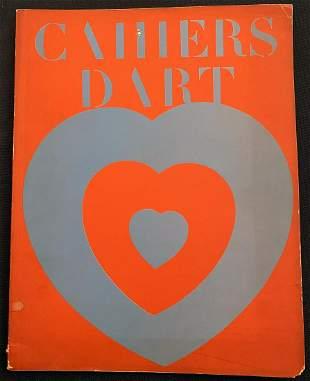 Cahiers d'art 1-2 1936 Duchamp