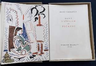 Dans l'Atelier de Picasso. 6 original lithos