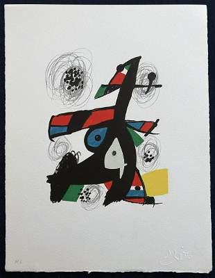 La Melodie Acide. Miro 14 lithographs in color.