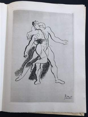 Pablo Picasso. Grace and Movement. With 14 etchings
