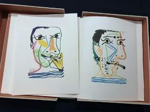 Picasso Pablo. Le Gout du Bonheur. 1970