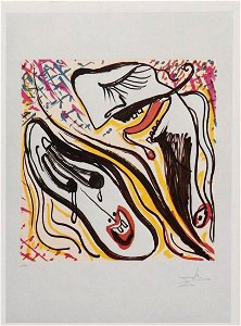DALI Les Vitraux (24 temi dal surrealismo) 24 s/n lith.