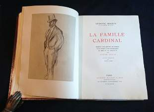 La Famille Cardinal, 1938. Binder signed by Jaco, with