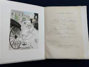 La Dame aux camelias. With 25 etchings by Icart