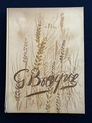Verve 31 32. The Intimate Sketchbooks of G. Braque