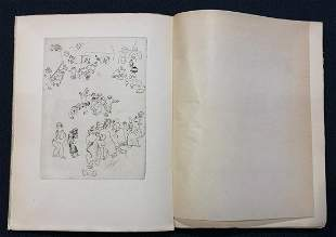 Maternite 1926, with 5 etchings by Chagall
