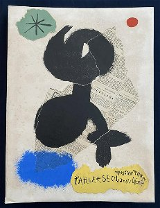 Parler Seul. Miro, Tzara 1948 1950