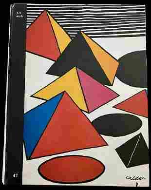 XXe siecle, No. 47. With Miro original lithograph