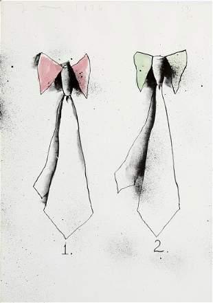 Jim Dine. TIES Lithograph 1970/76