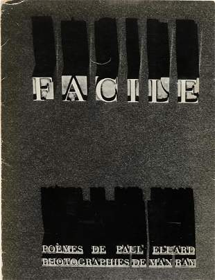 FACILE. 1935. Man Ray, Paul Eluard