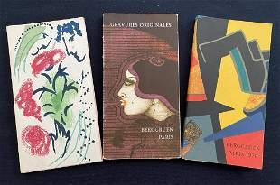 Collection Berggruen. 3 booklet Catalogs. Original